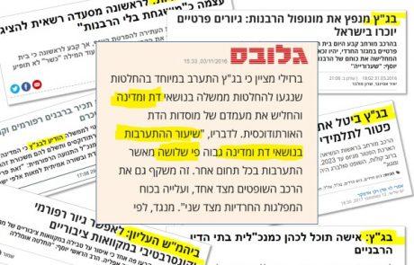 """האקטיביזם האנטי יהודי של בג""""ץ"""